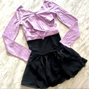 Girls Complete Ballet Outfit Size 5/6